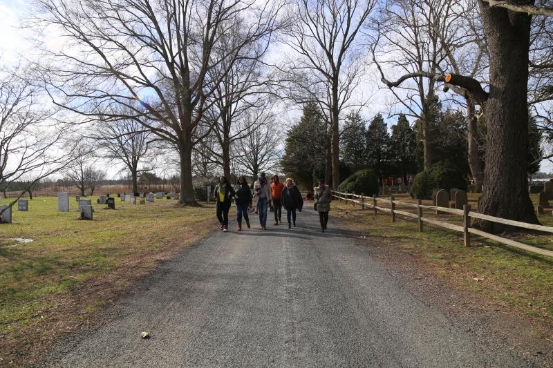 Church Creek - haunted cemetery
