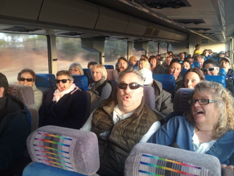 Fun on the Ghost Bus