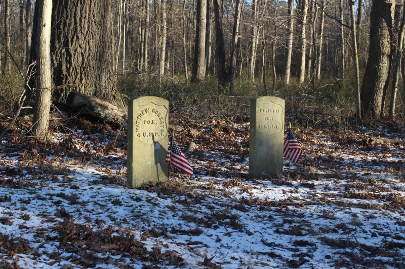 Unionville Soldier Graves