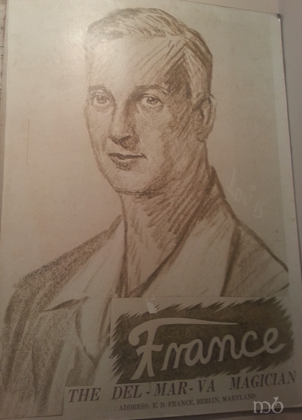 Ned France - Magician and owner of Ned's Bargain Fair