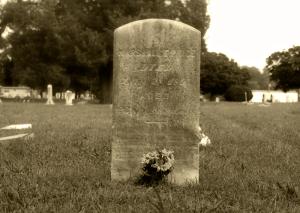 Marshall Price - Grave - Denton Cemetery