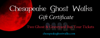 Gift Certificate - Ghost & Graveyard Bus tour