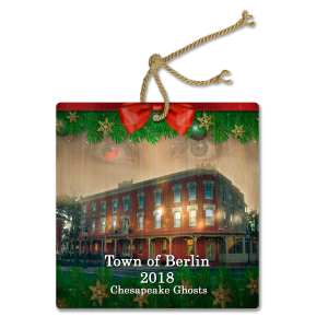 Holiday Ornament - 2018 features Town of Berlin