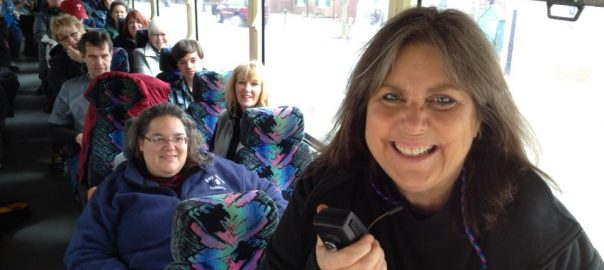 Ghost and Graveyard Bus tours with Mindie Burgoyne of Chesapeake Ghosts.